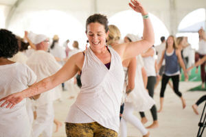 Sat Nam Fest West, Kundalini yoga retreat in Joshua Tree, CA.