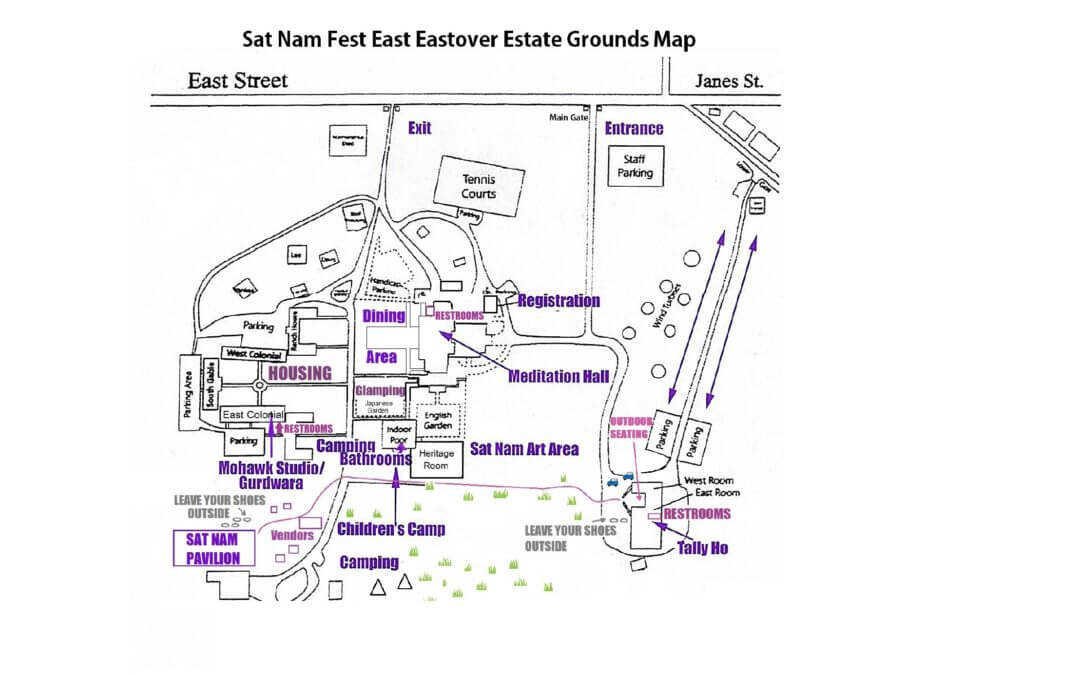Know Before You Go: Sat Nam Fest East Venue