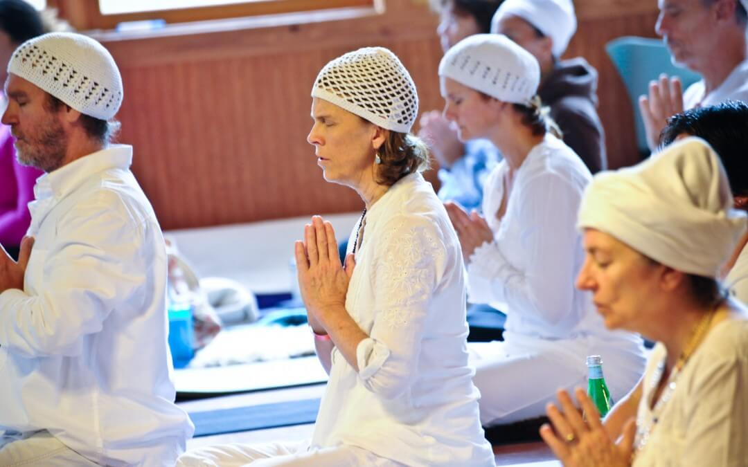 Why are All these Yogis Wearing White?