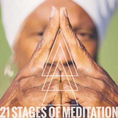 21 Stages of Meditation